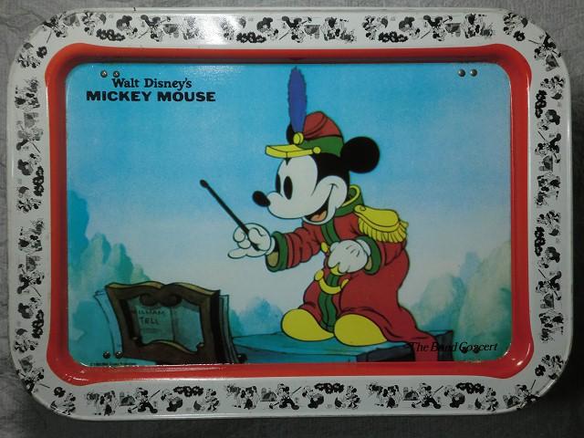 画像1: ミッキーマウス・テーブルトレイ (1)