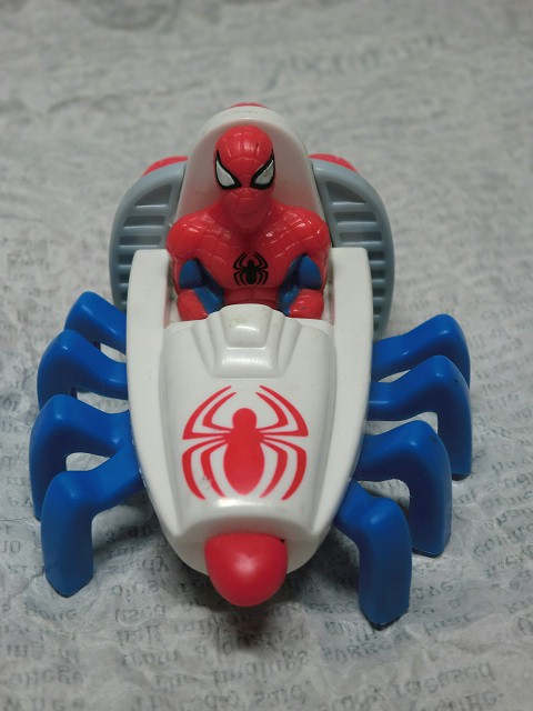 画像1: スパイダーマン・ミニカー (1)
