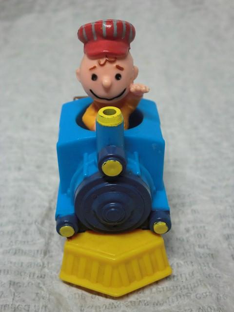 画像1: チャーリーブラウンミニ機関車 (1)