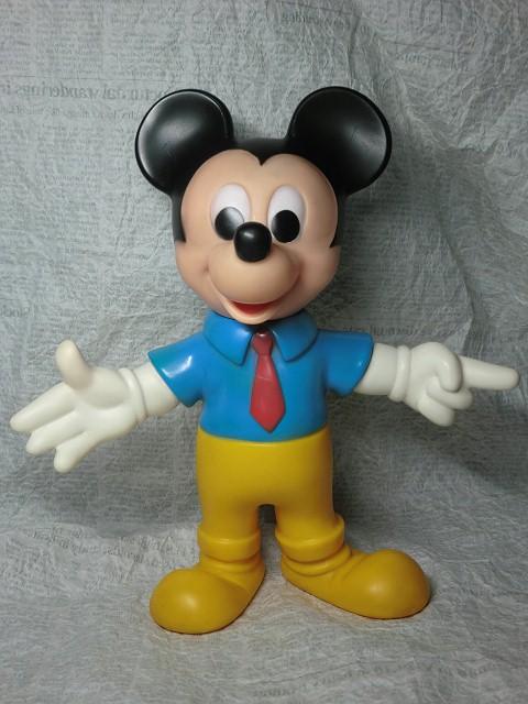 画像1: ミッキーマウスドール(黄色パンツ)M (1)