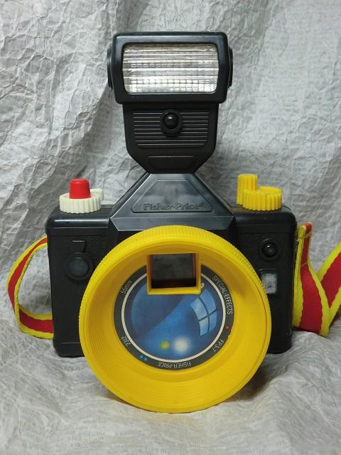 画像1: フィッシャープライス・カメラ(黒) (1)