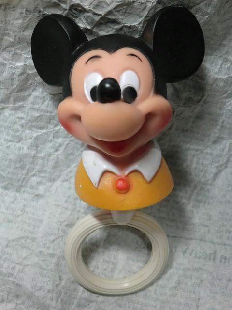 画像1: ミッキーマウス・ラトル (1)