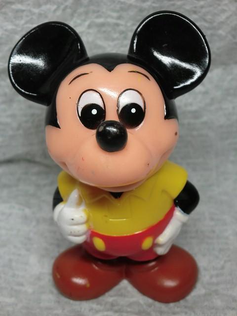 画像1: 三菱銀行ミッキーマウス貯金箱(黄) (1)