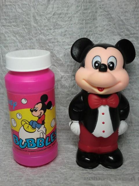 画像1: ミッキーマウス・シャボン玉ボトル (1)