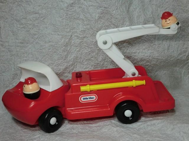 画像1: リトルタイクスはしご車(前期) (1)