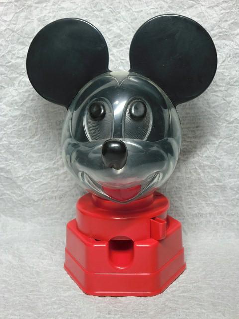 画像1: ミッキーマウス・ガムボールディスペンサー (1)