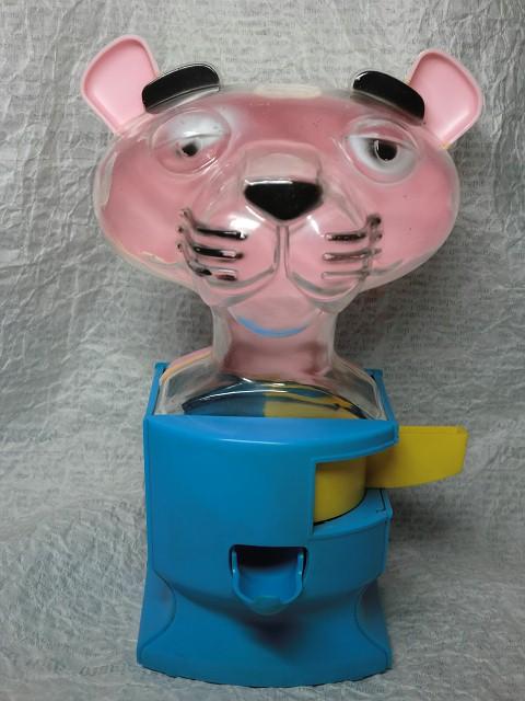 画像1: ピンクパンサー・ガムボールディスペンサー (1)