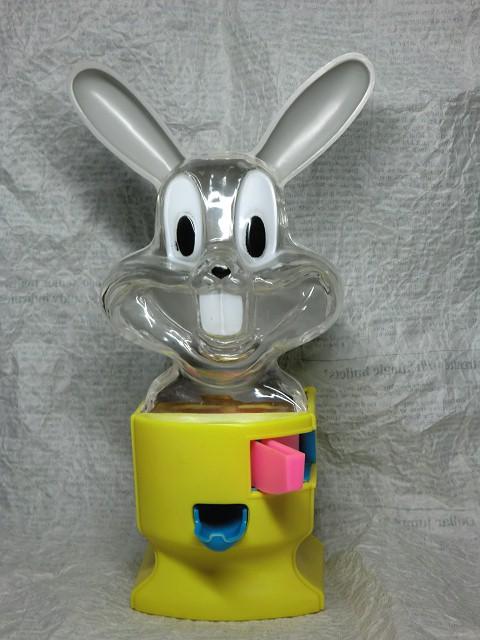 画像1: バッグスバニー・ガムボールディスペンサー黄 (1)