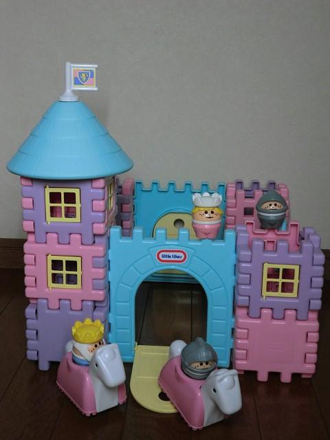 画像1: リトルタイクスお城セット (1)