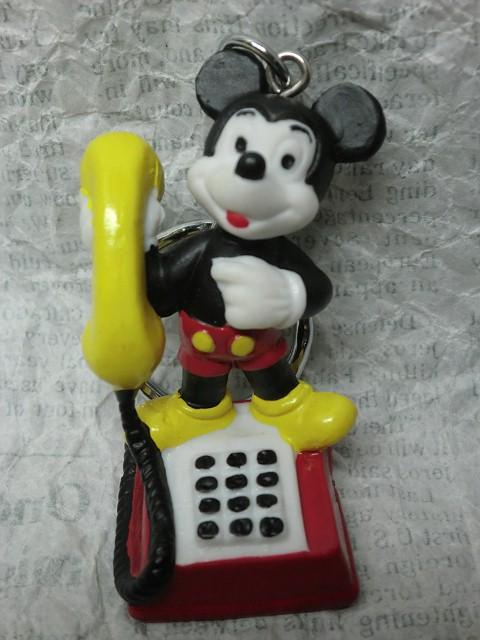 画像1: ミッキーマウスキーホルダー (1)
