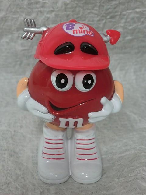 画像1:  m&m'ディスペンサー・赤bemine2 (1)