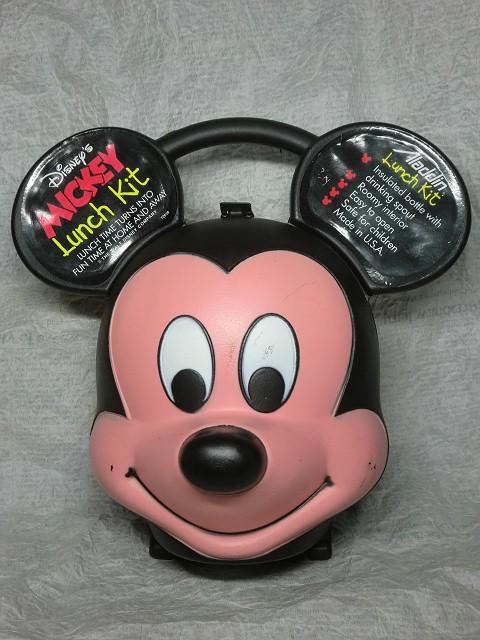 画像1: ミッキーマウス・ランチキット水筒付きB (1)